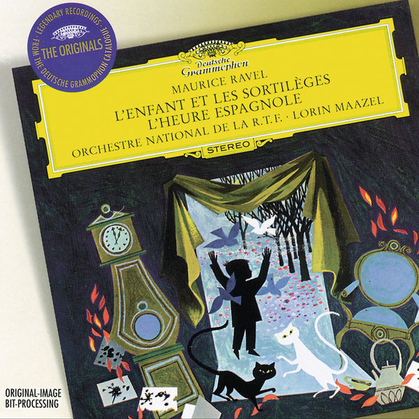 Lorin Maazel - Maurice Ravel : L'Enfant et les sortilèges - L'Heure espagnole - Nicolai Rimsky-Korsakov : Capriccio espagnol - Igor Stravinsky : The Song of the Nightingale