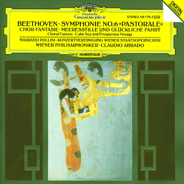 """Wiener Philharmonic Orchestra - Beethoven: Symphony No.6 """"Pastorale""""; Choral Fantasy; Calm Sea and Prosperous Voyage"""