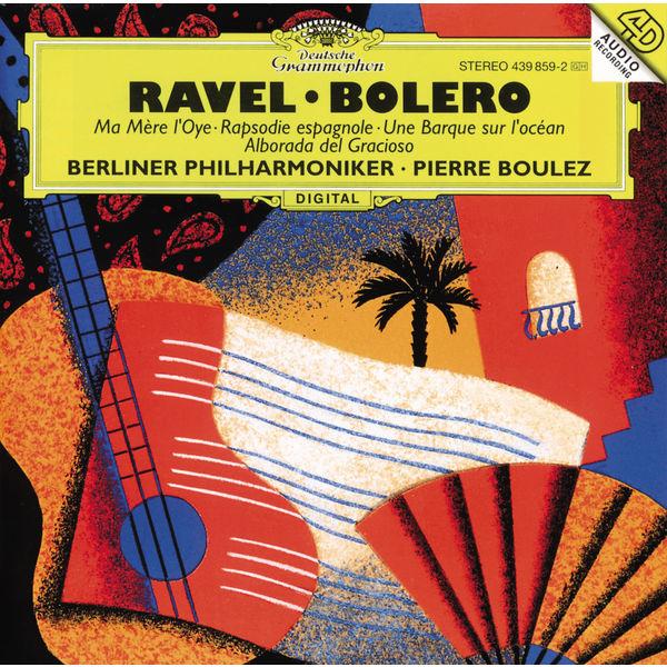 Ravel: piano concerto in g major, rapsodie espagnole, boléro.
