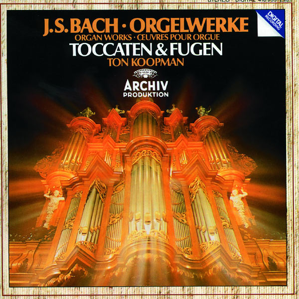 Ton Koopman - Bach, J.S.: Toccatas & Fugues BWV 538; BWV 540; BWV 564; BWV 565