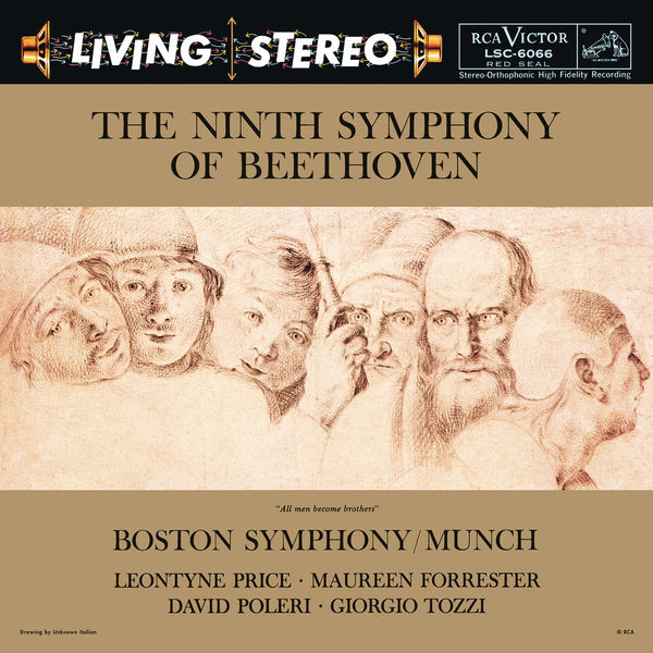 """Charles Munch - Beethoven: Symphony No. 9 in D Minor, Op. 125 """"Choral"""""""