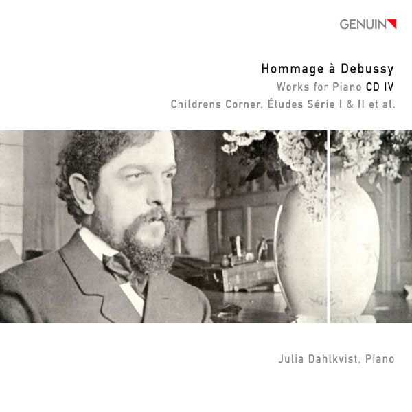 Julia Dahlkvist - Hommage à Debussy: Works for Piano CD 4