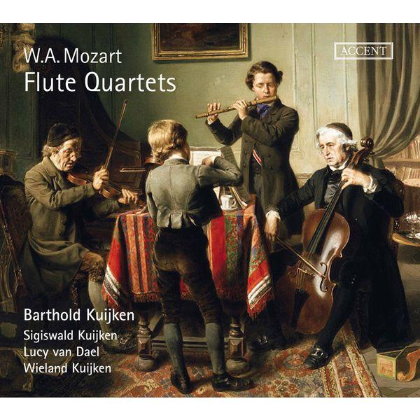 Barthold Kuijken - Mozart: Flute Quartets