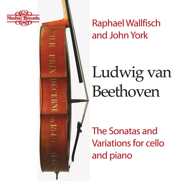 Raphael Wallfisch - Beethoven: The Sonatas & Variations for Cello and Piano