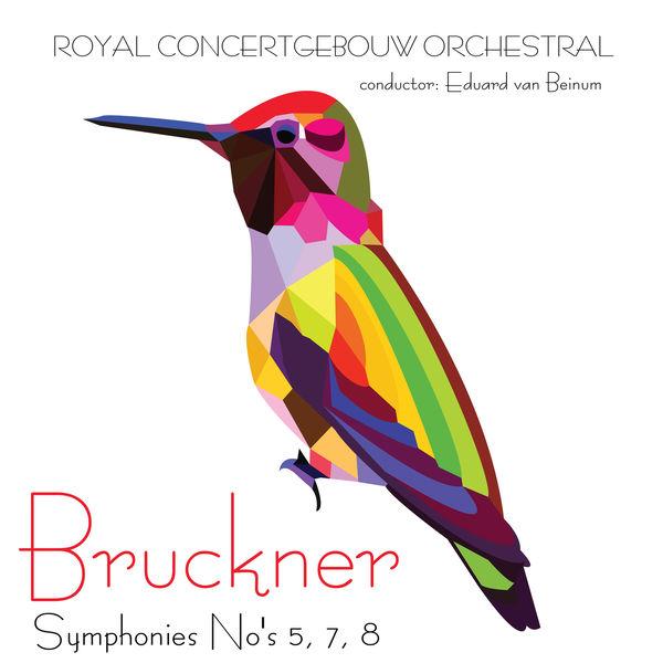 Royal Concertgebouw Orchestra - Bruckner Symphonies No's 5, 7, 8 & 9