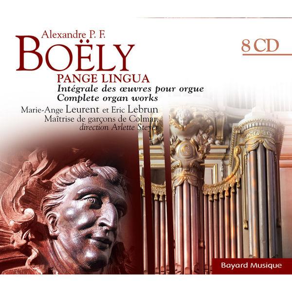 Marie-Ange Leurent - Pange Lingua - Intégrale des ouvres pour orgue