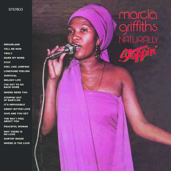 Marcia Griffiths - Naturally / Steppin'