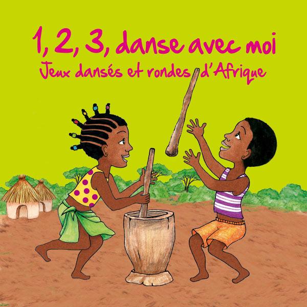 Kossua Ghyamphy|1, 2, 3, danse avec moi (Jeux dansés et rondes d'Afrique)