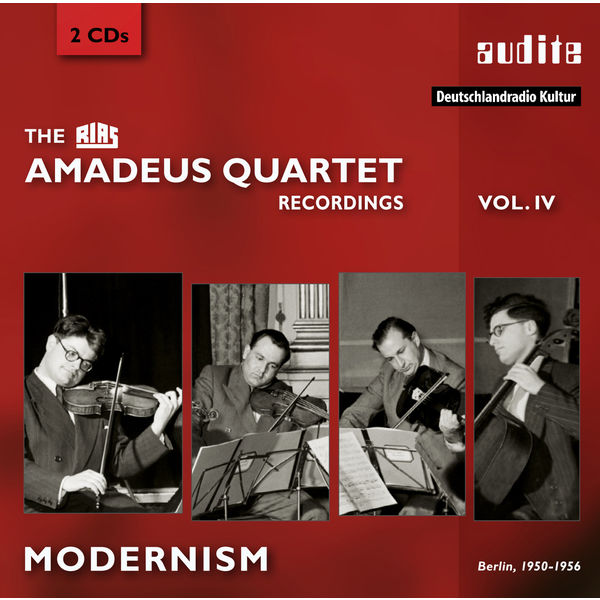 Amadeus Quartet - The RIAS Amadeus Quartet Recordings (IV) - Berlin 1950/56