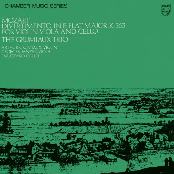 Grumiaux Trio - Mozart: Divertimento in E Flat Major, K.563