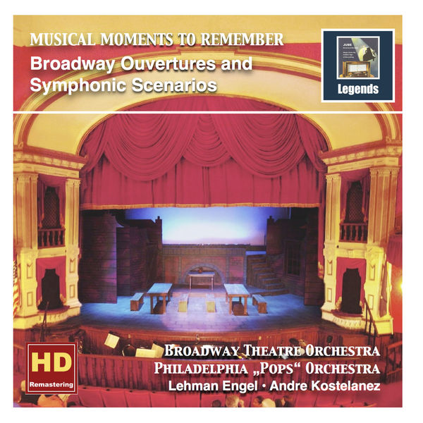 Broadway Theatre Orchestra - Musical Moments to Remember: Broadway Ouvertures & Symphonic Scenarios