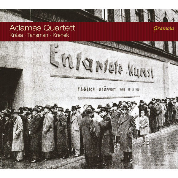 Adamas Quartett|Krása, Tansman & Krenek: Works for String Quartet