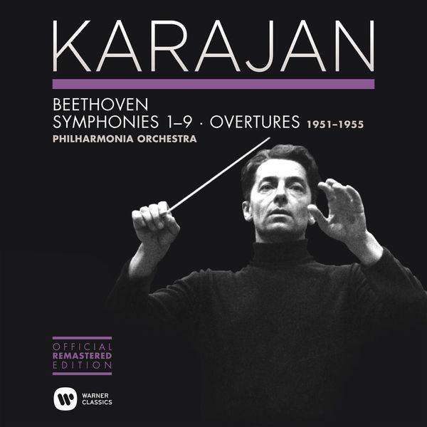 Herbert von Karajan - Beethoven: Symphonies Nos 1-9 & Overtures (Édition Studio Masters)