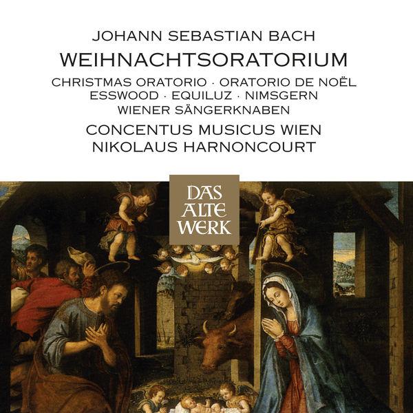 Nikolaus Harnoncourt - J.S. Bach : Weihnachtsoratorium [Oratorio de Noël - Christmas Oratorio]