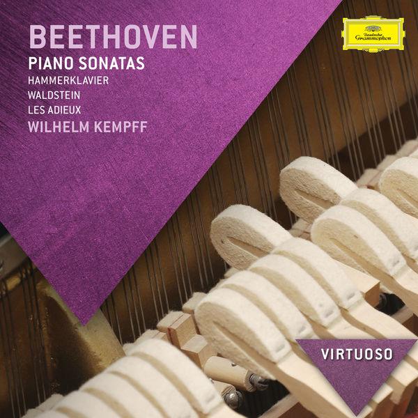 "Wilhelm Kempff - Beethoven: Piano Sonatas - ""Hammerklavier"", ""Waldstein"", ""Les Adieux"""