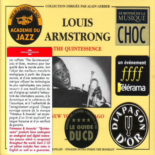 Louis Armstrong - The Quintessence, Vol. 1: New York-Chicago 1925-1940