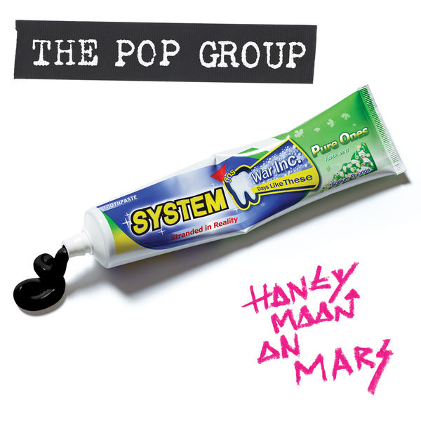 The Pop Group - Honeymoon On Mars (Megamix EP)