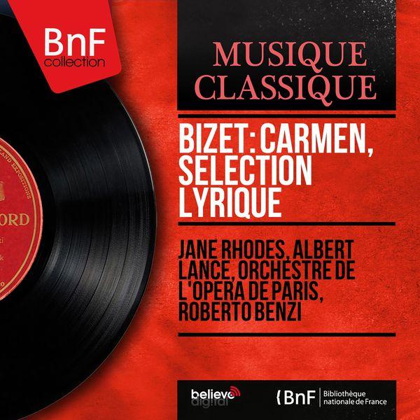 Jane Rhodes - Bizet: Carmen, sélection lyrique (Stereo Version)