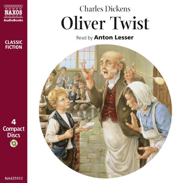 Anton Lesser - Dickens, C.: Oliver Twist (Abridged)