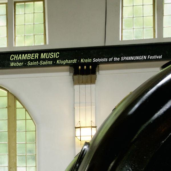 Andrea Lieberknecht - Weber, Saint-Saëns, Klughardt, Krein : Chamber Music