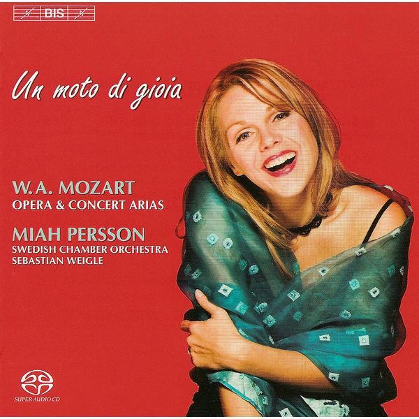 Miah Persson - MOZART: Soprano Arias