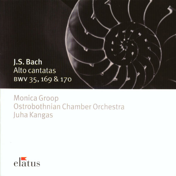 Monica Groop - Bach : Alto Cantatas