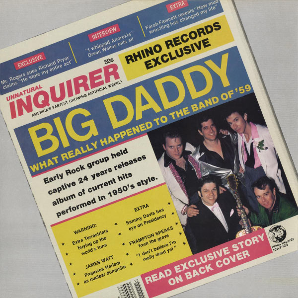 Big Daddy - What Really Happened To The Band Of '59
