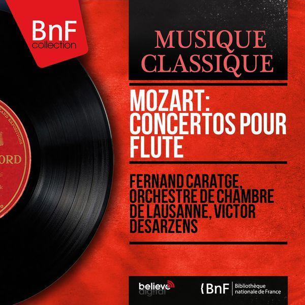Fernand Caratgé - Mozart: Concertos pour flûte (Mono Version)