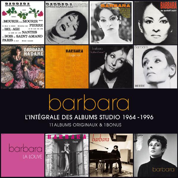 Barbara - L'intégrale des albums studio