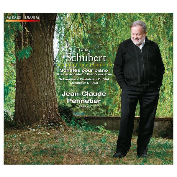 Jean-Claude Pennetier - Franz Schubert : Sonates pour piano