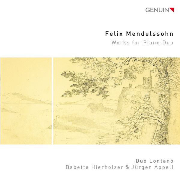 Duo Lontano - Mendelssohn: Works for Piano Duo