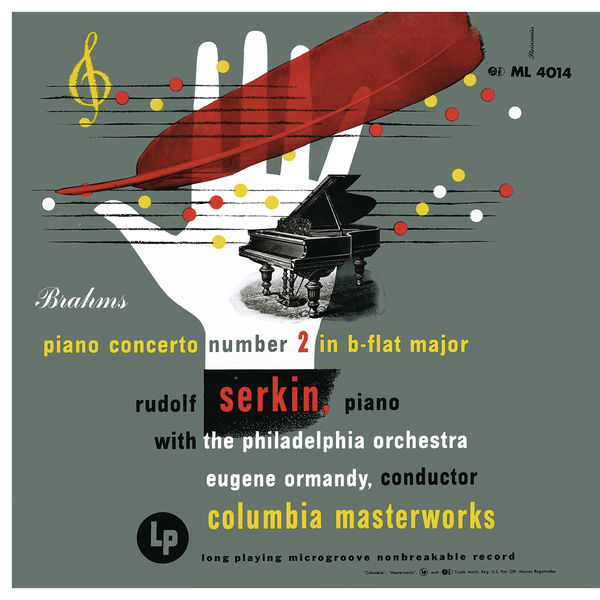 Rudolf Serkin - Brahms: Concerto No. 2 in B-Flat Major for Piano and Orchestra, Op. 83