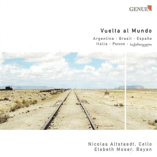 Nicolas Altstaedt - Cello and Bayan Arrangements - PIAZZOLLA, A. / VILLA-LOBOS, H. / FALLA, M. / STRAVINSKY, I. / TSINTSADZE, S. (Alstaedt, Moser)