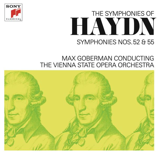 Max Goberman - Haydn: Symphonies Nos. 52 & 55