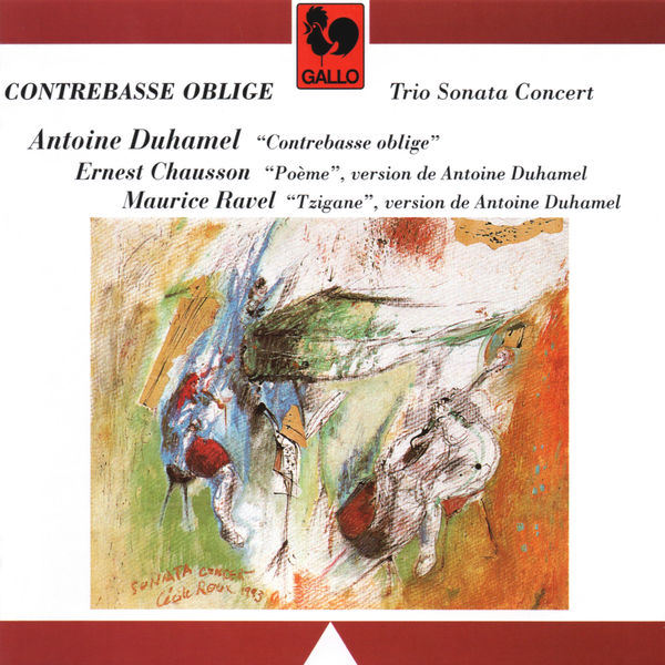 Antoine Duhamel - Duhamel: Contrebasse oblige - Chausson: Poème, Op. 25 - Ravel: Tzigane, M. 76