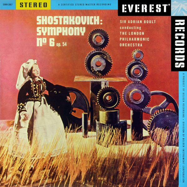London Philharmonic Orchestra - Shostakovich: Symphony No. 6, Op. 54 (Transferred from the Original Everest Records Master Tapes)