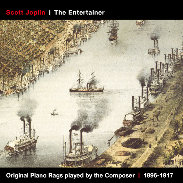 Scott Joplin - Scott Joplin's Original Rags Played by the Composer (1896-1917)