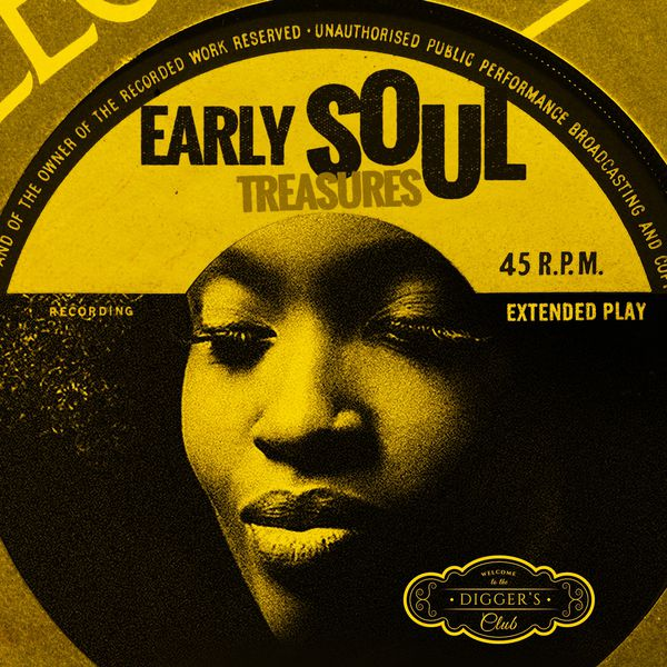 Various Artists - Early Soul Treasures (By Digger's Club)