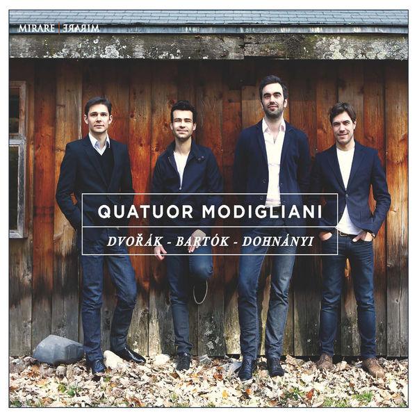 Quatuor Modigliani - Dvorák, Bartók & Dohnányi