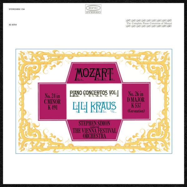 Lili Kraus - Mozart: Piano Concertos, vol. 1 (Nos. 24 & 26)