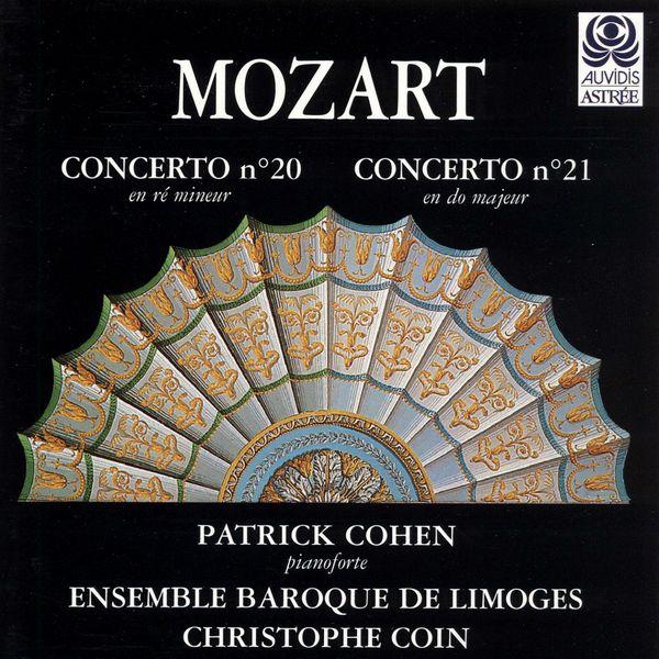 Patrick Cohen - Mozart: Concertos pour piano Nos. 20 & 21