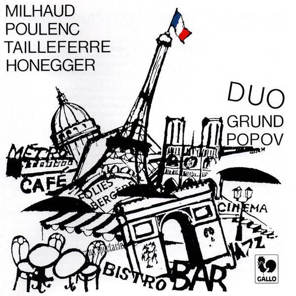 Marcelle Germaine Tailleferre - Tailleferre - Milhaud - Honegger - Poulenc: Le Groupe des Six