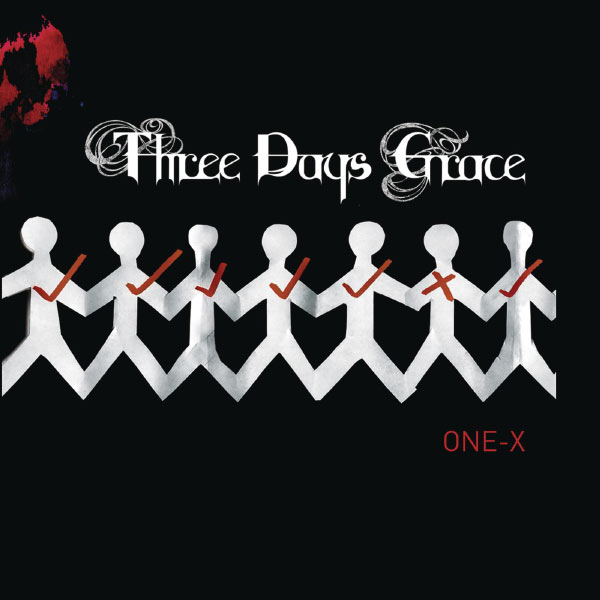 Скачать three days grace one x альбом.