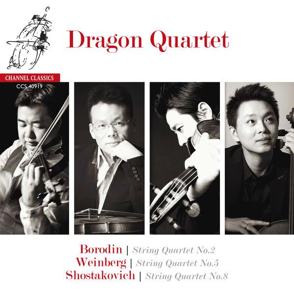 Dragon Quartet - Borodin, Shostakovich & Weinberg: String Quartets