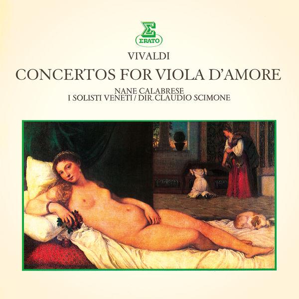 Nane Calabrese - Vivaldi: Concertos for Viola d'amore