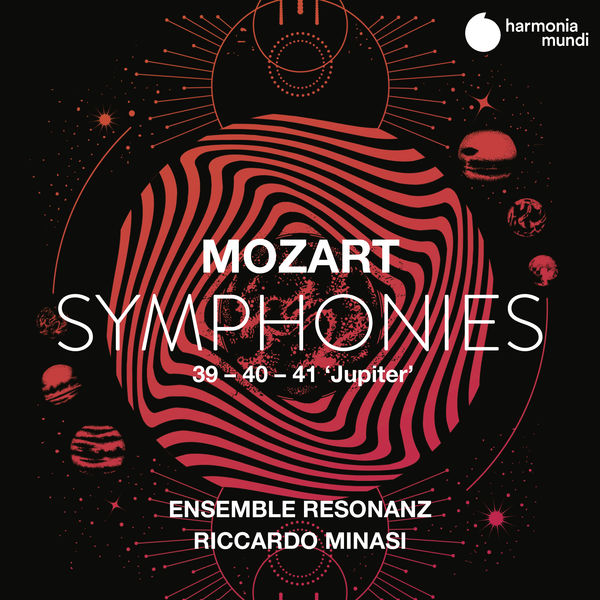 "Ensemble Resonanz - Mozart: Symphonies Nos. 39, 40 & 41 ""Jupiter"""