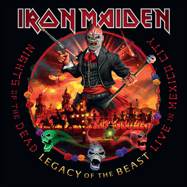 Iron Maiden|Nights of the Dead, Legacy of the Beast: Live in Mexico City (Live in Mexico City, Palacio de los Deportes, Mexico, September 2019)