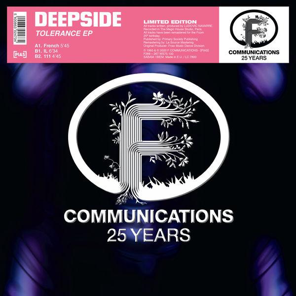 Deepside (Ludovic Navarre) - Tolérance EP