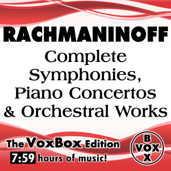 Saint Louis Symphony Orchestra - Rachmaninoff: Complete Symphonies, Piano Concertos & Orchestral Works