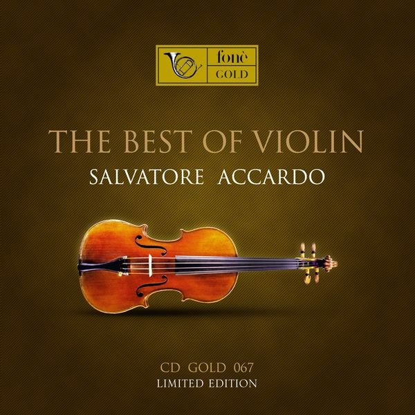 Salvatore Accardo - The best of violin (Analog master recording)